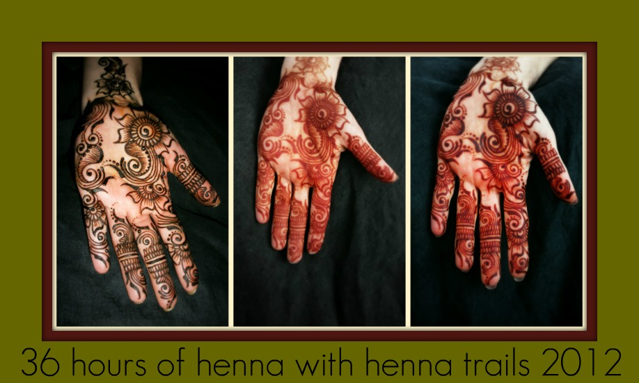 36 hours of henna