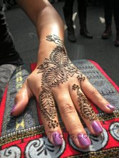 "Henna pattern inspired from ""Flowers of Marakkesh"" by Nic Tharpa Cartier Henna artistry Kristy McCurry"