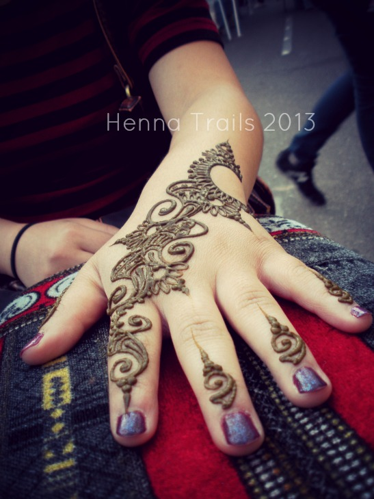 Henna $10.00 special at the Thursday Night  Market Chico, California. April to September 6-9pm.