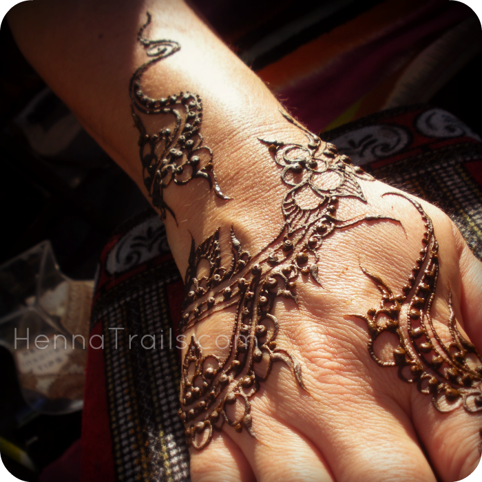 Yemen Styled Henna Design Henna Trails