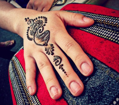 Henna special, artists choice at the Thursday Night Market summer 2013