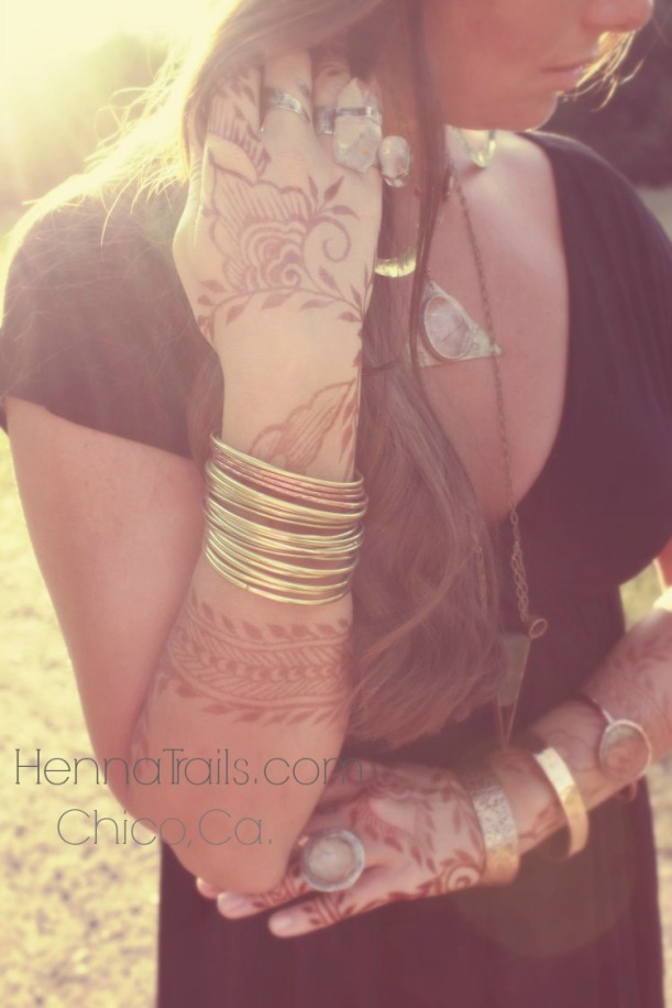 purely natural henna and handmade jewelry
