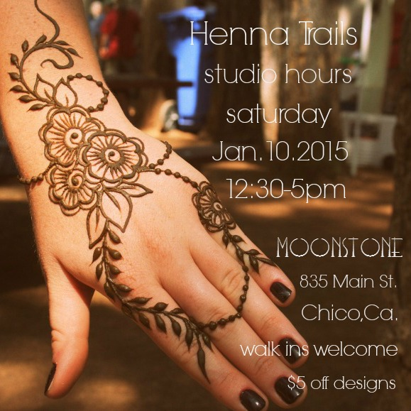 Henna for Chico California