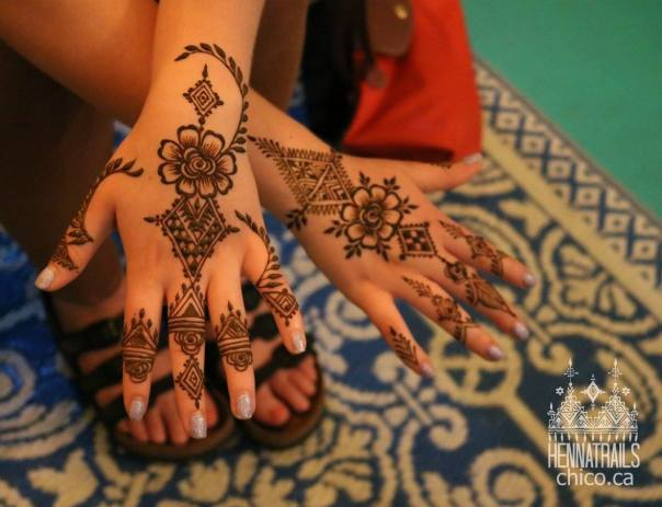Moroccan inspired henna