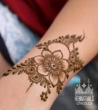 Persian Gulf, Khaleeji floral inspired henna