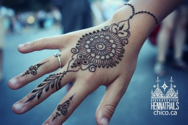 India Jewelry inspired henna
